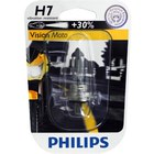 Philips H7 Vision Moto 55W 12972PRBW +30% moto��rovka