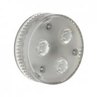 LED GX53 230V GX53 4.2W 35° 3000K - BIG WHITE-PROFESIONAL