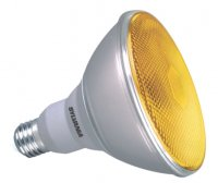 Sylvania MINI-LYNX PAR38 REFL. 23W YELLOW E27