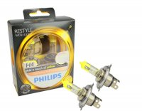 Philips H4 ColorVision Yellow 12V 12342CVPYS2