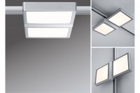 Paulmann URail LED Panel Double 8W Chrom mat 953.09