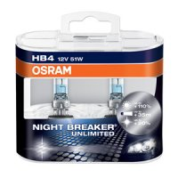 OSRAM HB4 Night breaker UNLIMITED 9006NBU-HCB 51W 12V duobox