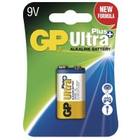 GP Alkalická baterie GP Ultra Plus 6LF22 (9V), blistr 1017511000