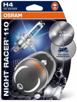 OSRAM H4 64193NR1-02B NIGHT RACER 110, 60/55W, 12V, P43t duo blistr