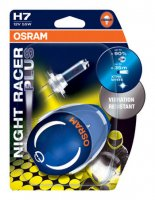 OSRAM H7 64210NRP-02B NIGHT RACER Plus, 55W, 12V, PK26d duo blistr motožárovka