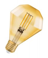 OSRAM Vintage 1906 LED CL DIAMOND FIL GOLD 40 non-dim 4,5W/825 E27