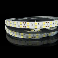 LED p�sek SMD5050 RGB, DC24V, IP20, 16mm, b�l� PCB p�sek, 120 led/metr