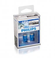 Philips W5W X-tremeVision LED 12966 6000K 12V 1W X2