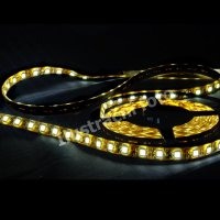 LED p�sek SMD5050 RGB, DC12V, IP54, 10mm, b�l� PCB p�sek, 60 led/metr