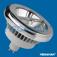 MEGAMAN LED reflector AR111 15W/75W GU10 2800k 2000cd/45° Dim 40Y