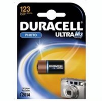 DURACELL baterie lithiová 3V CR17345 Ultra Photo CR123A