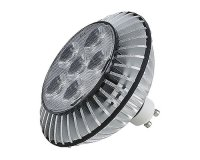DOMELED ES111 typ PowerLED 230V GU10 LED 9W 25� 3000K - BIG WHITE-PROFESIONAL