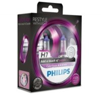 Philips H7 ColorVision Purple 12V 12972CVPPS2