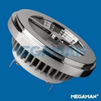 MEGAMAN LED reflector AR111 11W/50W G53 2800K 5000cd/24d Dim
