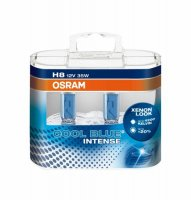 OSRAM H8 COOL BLUE INTENSE 12V 35W 64212CBI-HCB PGJ19-1 duobox