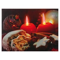 HEITRONIC LED obraz ADVENT 39911