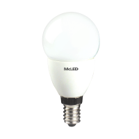 LED ��rovka kapka McLED 5,5W, E14, 4000K
