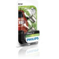 Philips P21W LongLife EcoVision 12V 12498LLECOB2