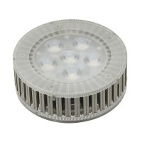 BIG WHITE LED GX53, žárovka, 7,5 W, 3000K, 25°, 450 lm, 6 SMD LED 550082