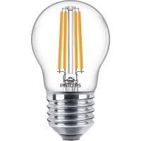 Philips Classic LEDluster ND 6.5-60W P45 E27 827 CL