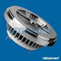 MEGAMAN LED reflector AR111 15W/75W G53 4000K 2000cd/45° Dim 25Y