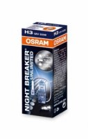 OSRAM H3 64151NBU Night Breaker UNLIMITED 55W 12V PK22s krabi�ka