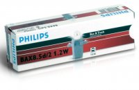 Philips BAX 8,5d/2 Grey 24V 13598CP
