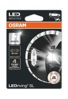 OSRAM LED C5W 6438DWP-01B 6000K 12V 1W SV8,5-8 31mm