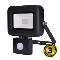 Solight LED reflektor PRO se senzorem, 10W, 850lm, 5000K, IP44 WM-10WS-L