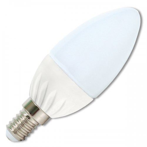 Ecolite LED mini svíčka E14,5W,2700K, 430lm LED5W-SV/E14/2700