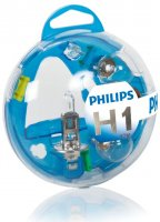 Philips Essential Box Kit H1 12V 12V 55717EBKM