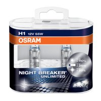 OSRAM H1 Night breaker UNLIMITED 64150NBU-HCB 55W 12V duobox