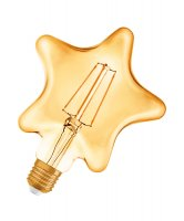OSRAM Vintage 1906 LED CL STAR FIL GOLD 40 non-dim 4,5W/825 E27