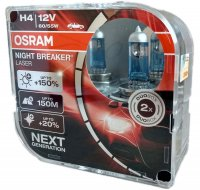 OSRAM H4 64193NL-HCB NIGHT BREAKER LASER +150% 60/55W