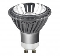 Civilight HALED LED PAR16 50 36st. 7W/927 GU10 DIM