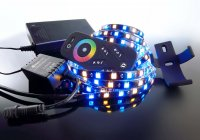 KapegoLED LED Mixit sada RF 5050-240-RGB+2700K-4,0m 220-240V AC/50-60Hz 54,00 W 2700 K 1700 lm 4000 mm 846015