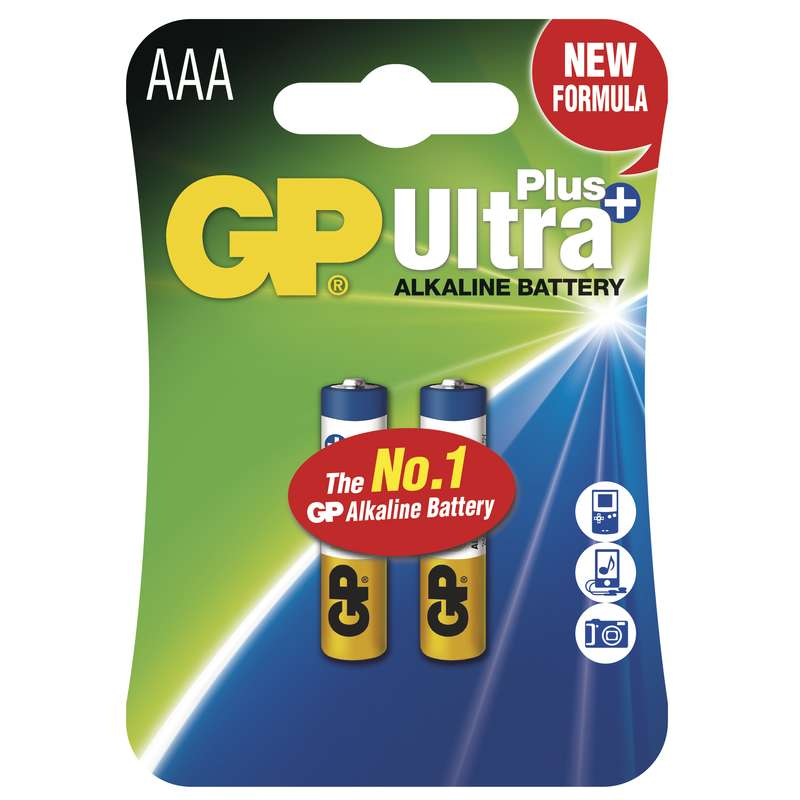 GP Alkalická baterie GP Ultra Plus LR03 (AAA), blistr 1017112000