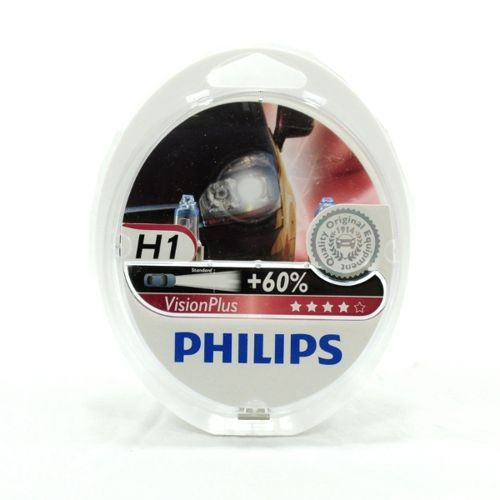 Philips H1 VisionPlus 12V 12258VPS2 plus 60procent Miss Sixty