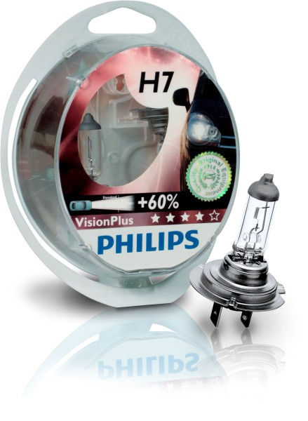 Philips VisionPlus H7 PX26d 12V 55W