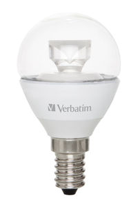 Verbatim LED MINI GLOBE E14 CLEAR 5,5W 2700K WW 330LM 52605