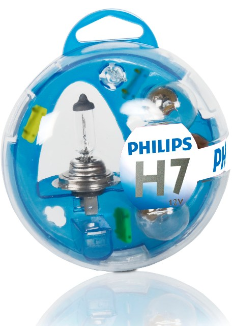 Philips Essential Box Kit H7 12V 12V 55719EBKM