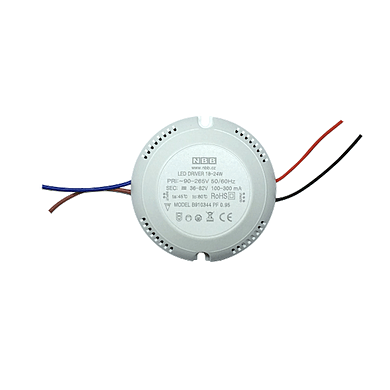 GALAXY LED Round type driver SINGLE 12-18-24W