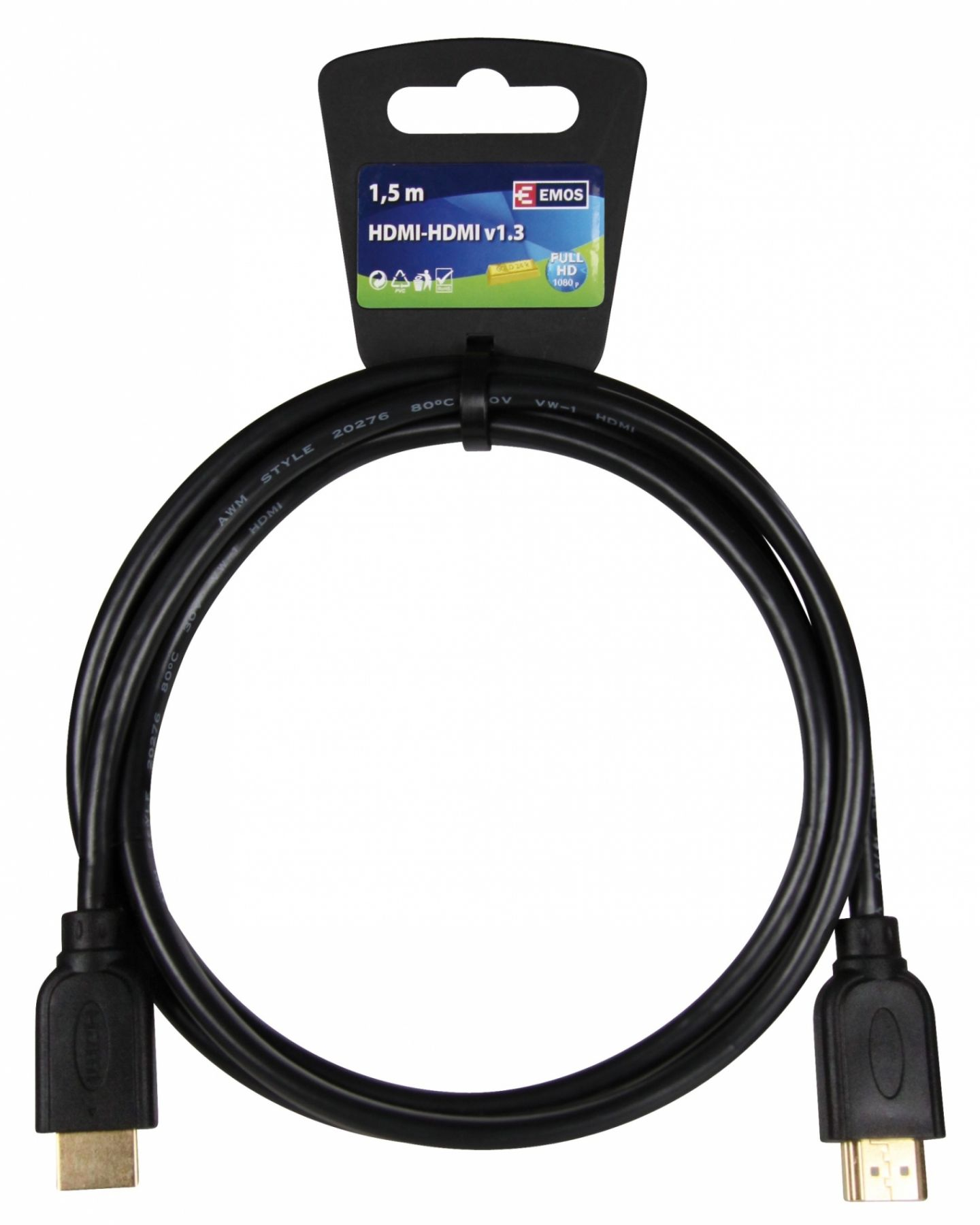 Kabel HDMI HDMI 1,5M ECO